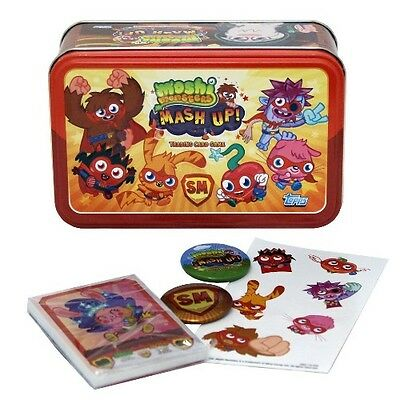 Moshi Monsters 2. Staffel ~ Gemischt Trading Card Dose
