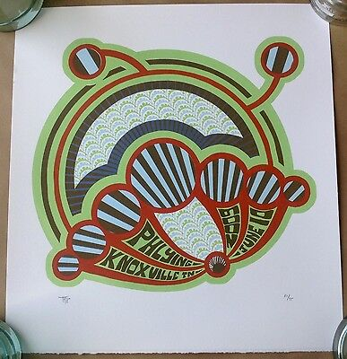 Phish Knoxville Tennessee 2009 Print Poster Tripp Limited Edition Signed #'d