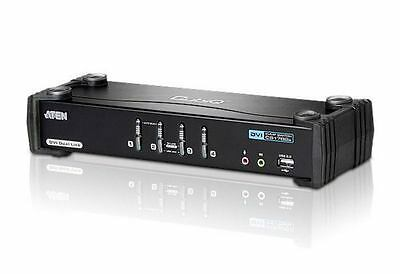 Aten CS1784A - 4 port Dual-Link DVI / USB 2.0 KVMP Switch with Audio Support...