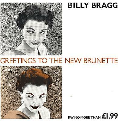 """Billy Bragg 12"""" vinyl single record (Maxi) Greetings To The New Brunette UK"""