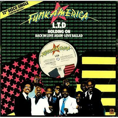 """L.T.D. Holding On (When Love Is Gone) UK 12"""" vinyl single record (Maxi)"""