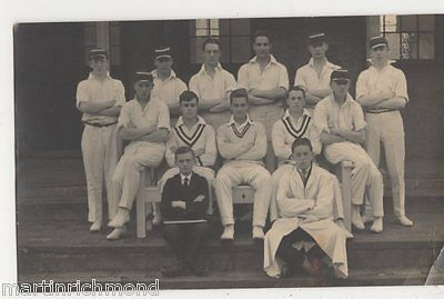 Worcester, Cricket Real Photo Postcard, B492