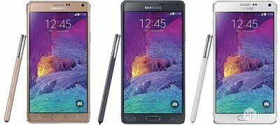 Samsung Galaxy Note 4 32GB Unlocked Black/White/Gold SM-N910F Smartphone Mobile