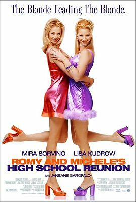 "ROMY & MICHELE'S HIGH SCHOOL REUNION Original DS 2 Sided 27x40"" US Movie Poster"