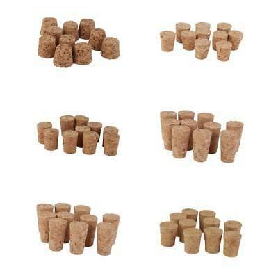 Pack of 10pcs Tapered Wine Corks Stoppers Crafts DIY Corks Board