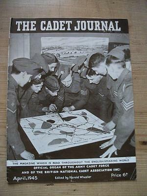 The Cadet Journal - Army Cadet Force Magazine April 1945