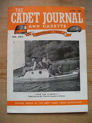 The Cadet Journal and Gazette- Army Cadet Force Magazine June 1960