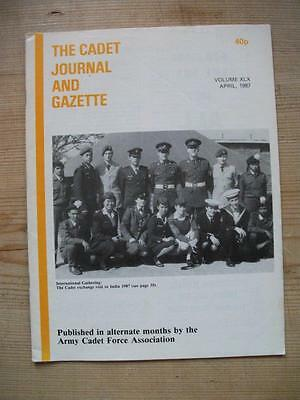 The Cadet Journal and Gazette- Army Cadet Force Magazine April 1987