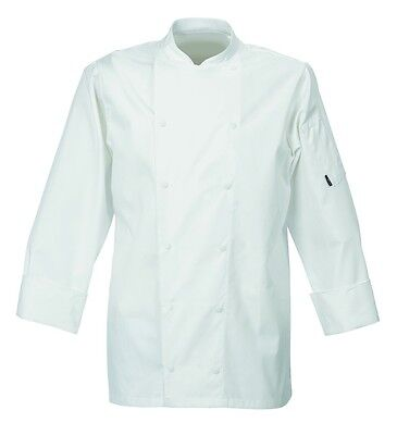 Le Chef Long sleeve executive jacket with cap studs (DE92) Size small
