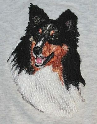 Embroidered Ladies Fleece Jacket - Shetland Sheepdog Sheltie BT4437