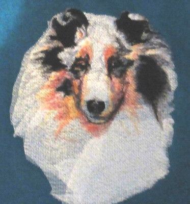 Embroidered Ladies Fleece Jacket - Shetland Sheepdog Sheltie BT3994