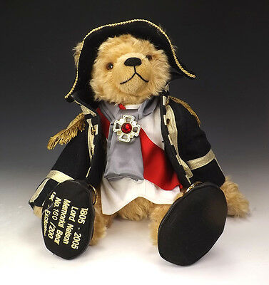 Vintage Hermann Lord Nelson Commemorative Teddy Bear - Limited Edition!