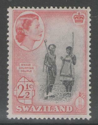 SWAZILAND SG81 1961 2½c DEFINITIVE MNH