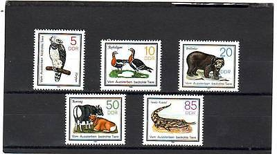 a101- GERMANY - SGE2662-E2666 MNH 1985 PROTECTED ANIMALS