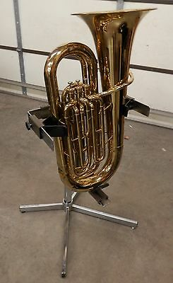 Heavy Duty Wenger Tuba Tamer Stand ! Adjustable to Fit Many Brands !NORESERVE!