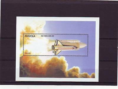 a105 - ANGOLA - SGMS1378b MNH 1998 COLUMBIA SPACE SHUTTLE
