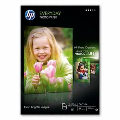 HP  Everyday Glossy Photo Paper-100 sht/A4/210 x 297 mm (Q2510A)