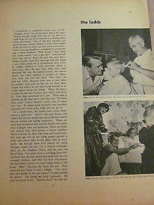 Alan Ladd, Full Page Vintage Clipping