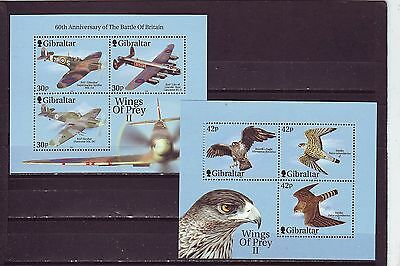 GIBRALTAR - SGMS949 MNH 2000 WINGS OF PREY - 2nd SERIES