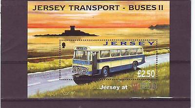 Jersey - Sgms1399 Mnh 2008 Bus - Wipa08 International Stamp Exhibition