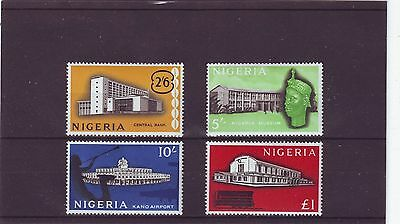 Nigeria - Sg98-101 Mlh 1961 Definitives High Values - 2/6 - £1.00