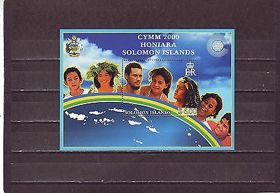 Solomon Isl - Sgms964 Mnh 2000 C/w Youth Ministers Meeting