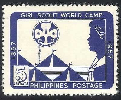 Philippines 1957 Girl Guides/Scouts/Camp/Youth/Leisure 1v (n33790)