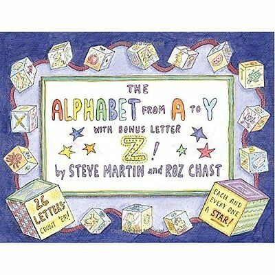 The Alphabet from A to y with Bonus Letter Z! - Hardcover NEW Martin, Steve 2007