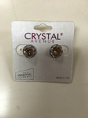 NEW Crystal Avenue Small Post Earrings