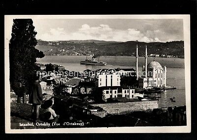 "6 x TURKEY ISTANBUL ASSORTED REAL PHOTO ""Ferrania"" POSTCARDS E20C - 61"