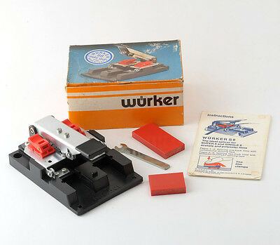 Wurker S8 Film Splicer Super 8mm and Single 8mm Boxed with Instructions