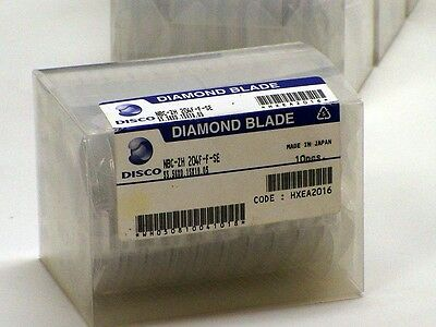 Disco Blades NBC-ZH- 204F-F-SE Set of 10 New Old Stock Silicon GaAs SiC Wafer