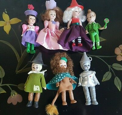 7pcs - Alexander Dolls from The Wizard of Oz for McDonald's