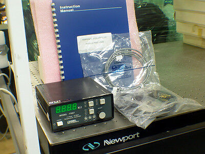 Oriel Newport 77057 TE Thermo-Electric Cooler Controller TEC New Old Stock Diode