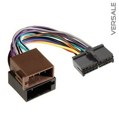 Adapter Cable for AEG Prology Clatronic Car Radio DIN ISO Plug Wiring Harness