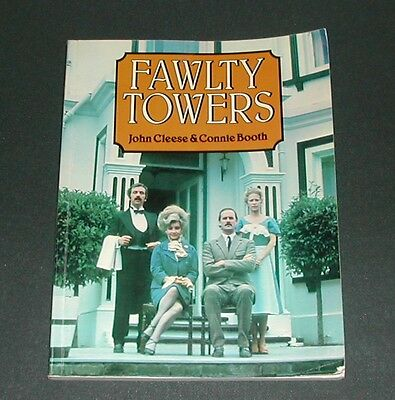 Fawlty Towers script book with photographs 1977