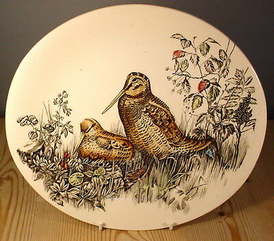 Johnson Brothers Game Birds Woodcock Oval Salad Plate