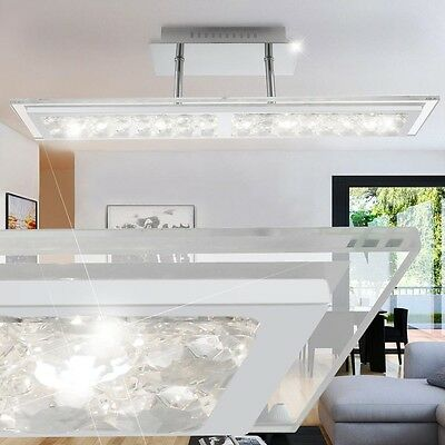 LED 12 W Ceiling Light Glass Crystal clear Living Room Lamp Hanging Lighting