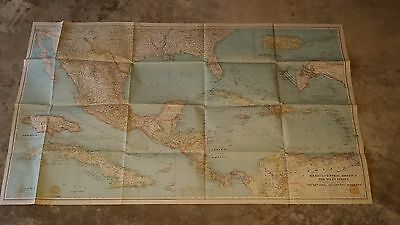 National Geographic Mexico Central America West Indies 1934