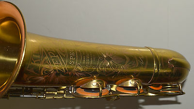 1938 King Zephyr Special Tenor Sax Sterling Silver Neck BEAUTIFUL