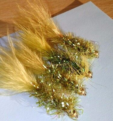 Olive Fritz Trout Buzzer Trout Lure Dry Fly Fishing Trout Flies
