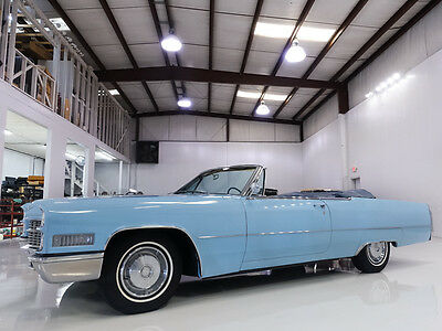 1966 Cadillac DeVille Convertible, beautiful older restoration! 1966 Cadillac DeVille Convertible, recent fuel system service! Numbers matching!