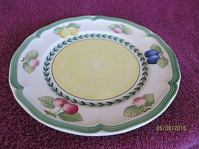 """Villeroy and Boch (6) Bread/Salad plates """"French Garden Fleurence"""""""