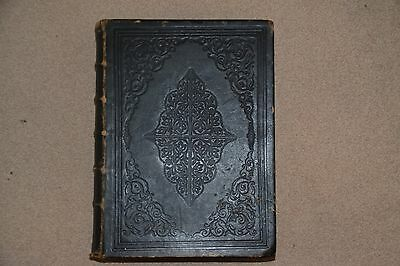 Large leather bound family bible