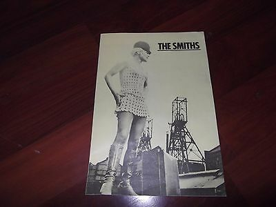 The Smiths Meat Is Murder 1985 Tour Programme.morrissey.