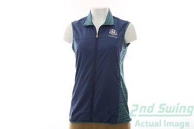 New Womens Adidas 2016 Ryder Cup Rangewear Wind Vest Small S Purple MSRP $75