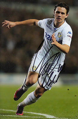 NEW, MARCUS ANTONSSON, LEEDS UNITED 6X4 SIGNED PHOTO 2016/17 (a)