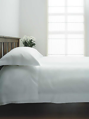 1000tc Single Ply 100% Egyptian Cotton Deep Fitted sheet in White Superking Bed