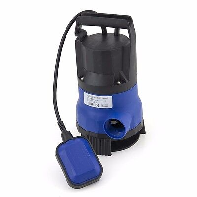 750W 1HP 3432GPH Submersible Dirty Clean Water Flooding Pond Swimming Pool Flood