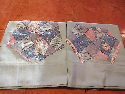 Vintage Blue His/hers Bloomers Pillowcases